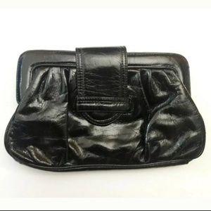 H&M Black Clutch Purse Hand Bag (NL)